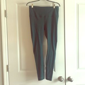 """Lululemon Zoned In Tight """"27 High Rise Yoga Pants"""